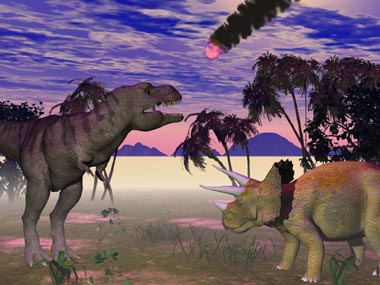 dinosaur killing asteroid size - photo #29